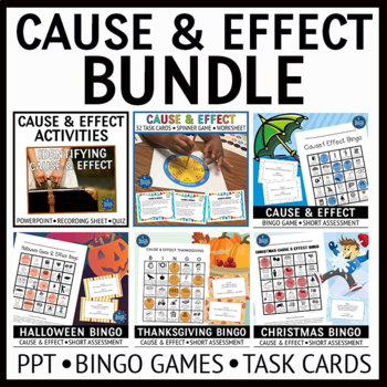 Cause and Effect Activities Bundle