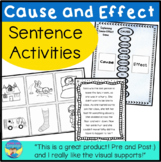 Cause and Effect Activities- Explaining from Picture Cards