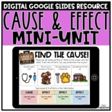 Cause and Effect Activities & Passages Digital Version for