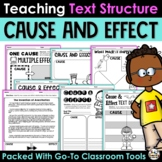 Cause and Effect - Activities Printables and Reading Passages