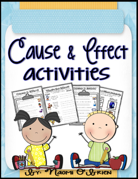 Cause And Effect Activities Worksheets By Read Like A Rock Star - View Cause And Effect Matching Worksheets Kindergarten Pics