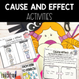 Cause and Effect Activities for the whole year!