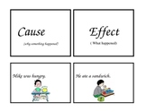 Cause and Effect Activity Cards
