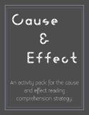 Cause and Effect Activity Pack