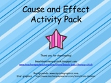 Cause and Effect - Activity Pack - Common Core Aligned!