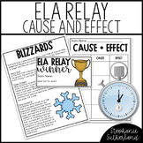 Cause and Effect Activity with Passages: ELA Relay