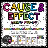 Cause and Effect Anchor Chart Set