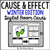 Cause and Effect BOOM Cards Winter Edition