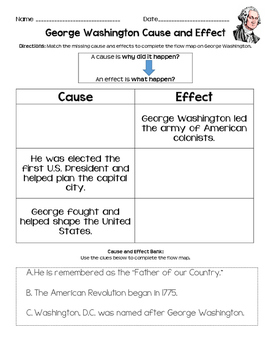 Cause and Effect *BUNDLE*