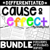 Cause and Effect {BUNDLE} Stories + Worksheets -  Differen