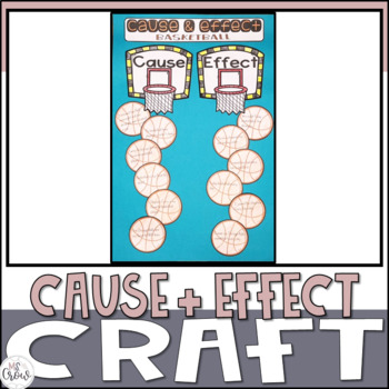 Cause and Effect Basketball Craftivity