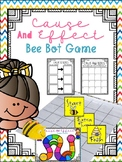 Cause and Effect Scoot or Bee Bot Game