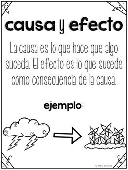 Cause and Effect Bilingual Unit