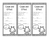 Cause and Effect Bookmarks