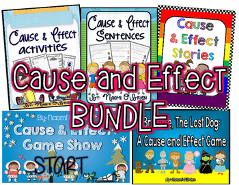 Cause and Effect Bundle: 5 Awesome Resources!