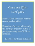 Cause and Effect Card Game - FUN
