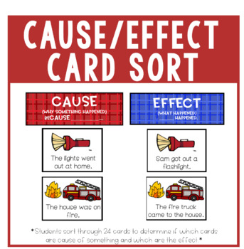 Cause and Effect Card Sort