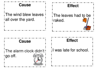 Cause and Effect Cards