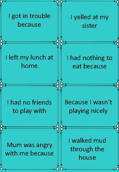 Cause and Effect Cards - Comprehension Skills