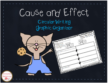 Cause and Effect Circular Writing Template