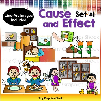 Cause and Effect Clip Art 1