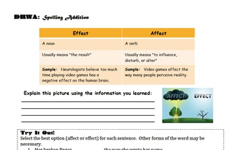 Cause and Effect Cloze Notes and PowerPoint