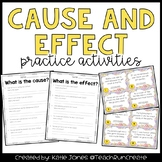 Cause and Effect {4 activities}