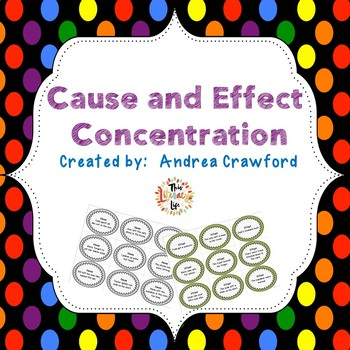Cause and Effect Concentration