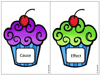 Cause and Effect Cupcakes Match FREEBIE