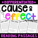 Cause and Effect Short Stories / Passages - Differentiated