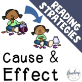 Cause and Effect - Reading Strategies for Seesaw & Google