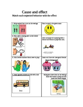 Cause and Effect - Expected Behaviors