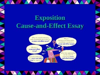 Cause And Effect Exposition Essay Writing Powerpoint By Brilliance  Cause And Effect Exposition Essay Writing Powerpoint Thesis Of A Compare And Contrast Essay also Healthy Eating Habits Essay  Argumentative Essay Proposal