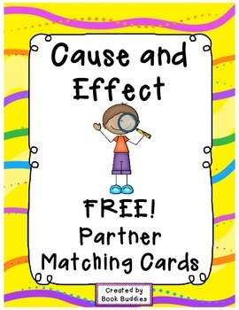 Cause and Effect FREE Matching Cards