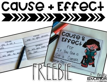 Cause and Effect FREEBIE!