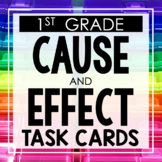 Cause and Effect First Grade Toothy® Task Kits