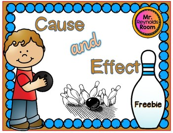 Cause and Effect {Freebie}