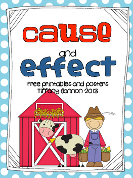 Cause and Effect Freebies!!!