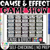Cause and Effect Game Show | Test Prep Review Game (PPT) |