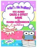 Cause and Effect Game for Reading Comprehension