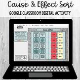 Cause and Effect: Google Classroom Digital Sort [SOL 4.5j]