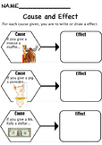 Cause and Effect Handout
