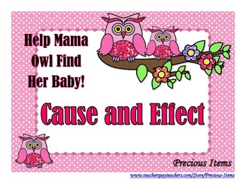 Cause and Effect - Help Mama Owl Find Her Baby!