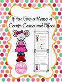 Cause and Effect- If You Give a Mouse a Cookie Worksheet