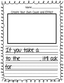 Cause and Effect: If You Give(Take) A.....