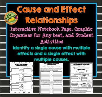 Cause and Effect Relationships for Upper Grades