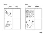 Cause and Effect Kindergarten Activity