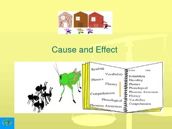 Cause and Effect Interactive Lesson