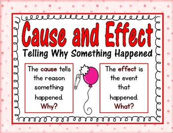 Cause and Effect Task Cards and Printables