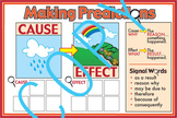 Cause and Effect Making Predictions Poster
